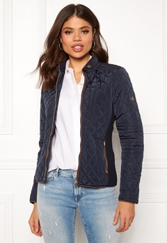 Hollies Ripon Jacket Navy Bubbleroom.no