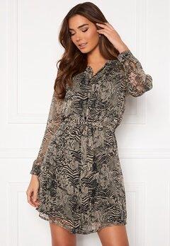 ICHI Assip Dress Oxford Tan Bubbleroom.no