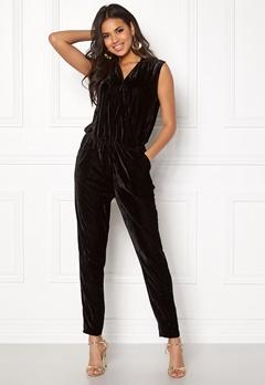 ICHI Cati Jumpsuit Black Bubbleroom.no