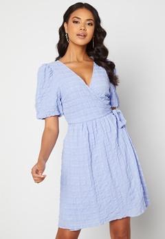 ICHI Gelby Dress Cashmere Blue Bubbleroom.no