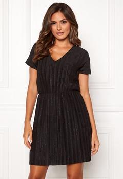 ICHI Kamma Dress Black Bubbleroom.no