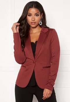 ICHI Kate Suit Jacket Russet Brown Bubbleroom.no