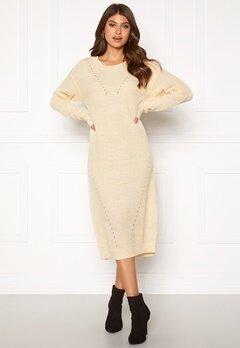 ICHI Marat Dress Tapioca Bubbleroom.no