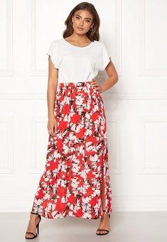ICHI Marrakech Skirt 16019 Poinciana Bubbleroom.no