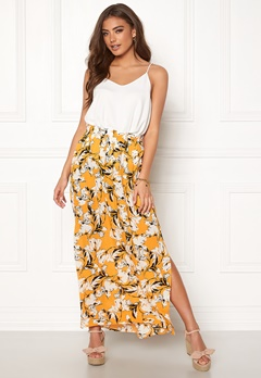 a0889014 ICHI Marrakech Skirt 17018 Old Gold Bubbleroom.no