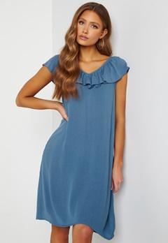 ICHI Marrakech SO Dress Coronet Blue Bubbleroom.no