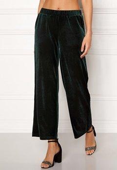 ICHI Velvet Pants Green Gables Bubbleroom.no