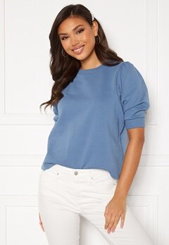 ICHI Yarlet Sweatshirt Coronet Blue Bubbleroom.no