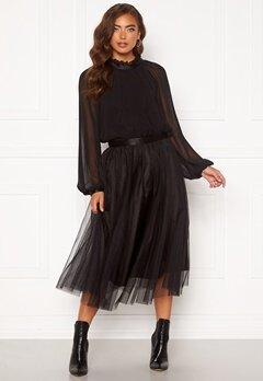 Ida Sjöstedt Flawless Skirt Black Bubbleroom.no