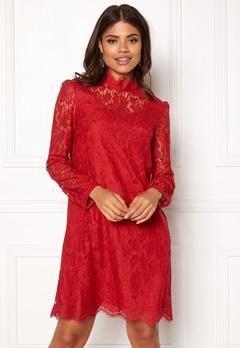 Ida Sjöstedt Hannah Dress Red Bubbleroom.no