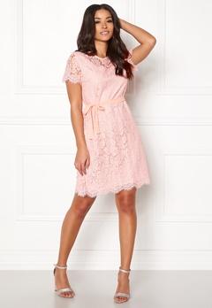 Ida Sjöstedt Helena Dress Soft Pink Bubbleroom.no