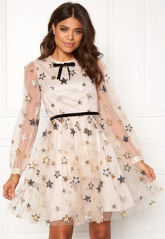 Ida Sjöstedt Macaron Dress Star Tulle Cream Bubbleroom.no