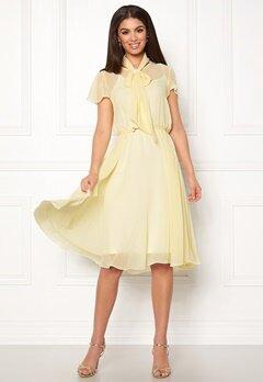Ida Sjöstedt Polly Dress Light Yellow Bubbleroom.no