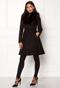 Ida Sjöstedt Tracey Coat Black Bubbleroom.no