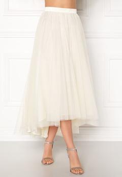 Ida Sjöstedt Wave Skirt Ivory Bubbleroom.no