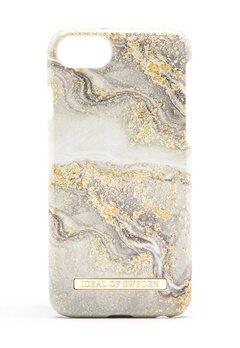 iDeal Of Sweden Fashion Case iPhone Sparkle Greige Marbl Bubbleroom.no