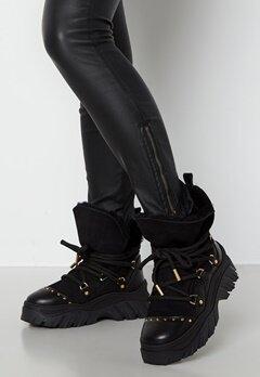 INUIKII Trekking Plain Sneaker 201 Black bubbleroom.no