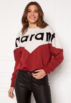 Isabel Marant Houston Sweater 80GR Grenat Bubbleroom.no