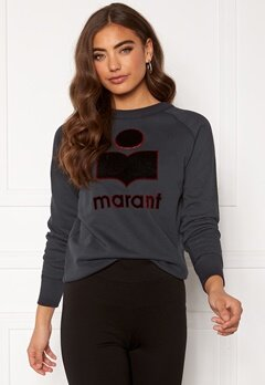 Isabel Marant Milly Sweater Faded Black Bubbleroom.no