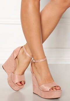 Krush Iso High Heel Sandals Blush Bubbleroom.no
