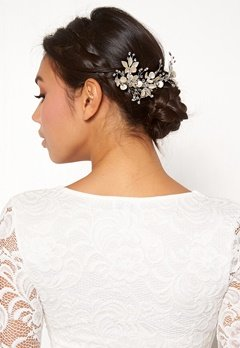 Ivory & Co Flora Haircomb Silver Bubbleroom.no