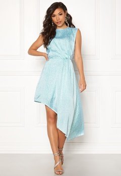 Ivyrevel Asymmetric Dress Light Blue Croco Bubbleroom.no