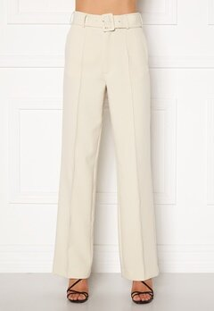 Ivyrevel Belted Suit Pants Off White Bubbleroom.no