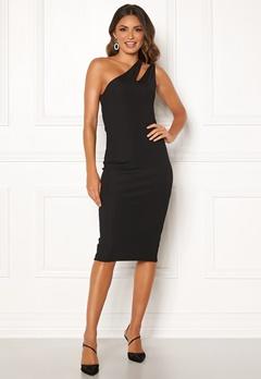 Ivyrevel Cutout One Shoulder Dress Black Bubbleroom.no