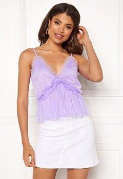 Ivyrevel Frill Shoulder Strap Top Lavender Bubbleroom.no