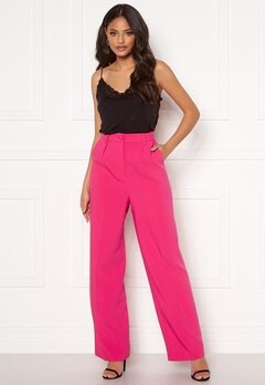 Ivyrevel Front Pleated Wide Pants Pink Bubbleroom.no