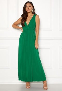 Ivyrevel Maxi Dress With Slit Verdant Green Bubbleroom.no