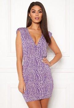 Ivyrevel Sharp Shoulder Mini Dress Light Pink Bubbleroom.no