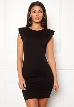 Ivyrevel Shoulder Pad Mini Dress Black Bubbleroom.no