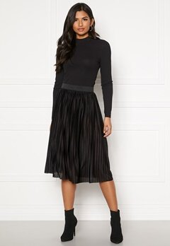Jacqueline de Yong Aboa Skirt Black Bubbleroom.no