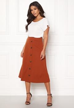 Jacqueline de Yong Bellis Button Skirt Arabian Spice Bubbleroom.no