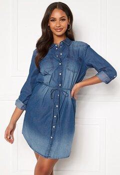 Jacqueline de Yong Bill L/S Shirt Dress Medium Blue Denim Bubbleroom.no