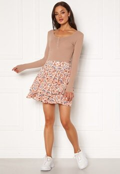 Jacqueline de Yong Caro Skirt Whisper Pink Bubbleroom.no