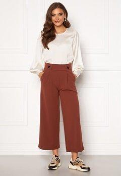 Jacqueline de Yong Geggo New Ancle Pants Cherry Mahogany Bubbleroom.no