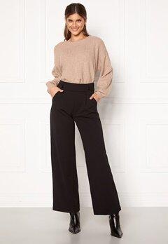 Jacqueline de Yong Geggo New Long Pants Black Bubbleroom.no