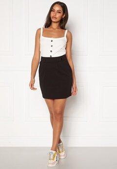 Jacqueline de Yong Geggo Skirt JRS Black Bubbleroom.no