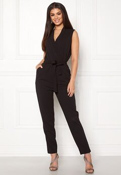 Jacqueline de Yong Honey S/L Jumpsuit Black Bubbleroom.no