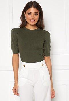 Jacqueline de Yong Lady S/S Pullover Knit Kalamata Bubbleroom.no