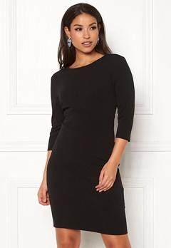 Jacqueline de Yong Lauren 3/4 Dress Black Bubbleroom.no