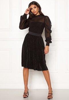 Jacqueline de Yong Nethe Skirt Black Bubbleroom.no