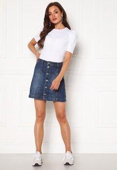 Jacqueline de Yong Sara Life Skirt Medium Blue Denim Bubbleroom.no