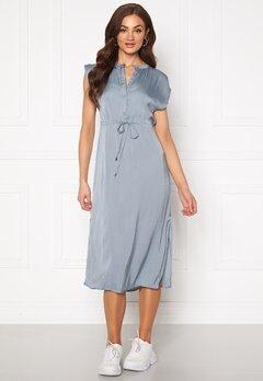 Jacqueline de Yong Sheela S/S Long Dress Faded Denim Bubbleroom.no