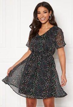 Jacqueline de Yong Sibel S/S Dress Sky Captain AOP Bubbleroom.no