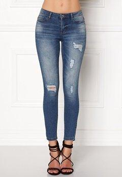 Jacqueline de Yong Skinny Low Magic Jeans Light Blue Denim Bubbleroom.no