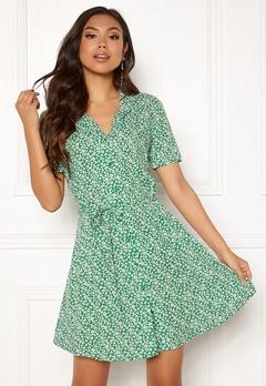 Jacqueline de Yong Star S/S Shirt Dress Medium Green Bubbleroom.no