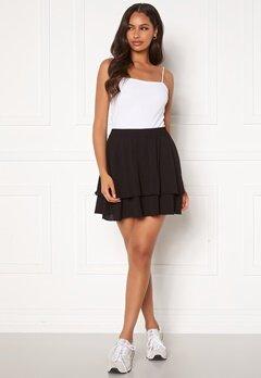 Jacqueline de Yong Tricky Layer Mini Skirt Black Bubbleroom.no